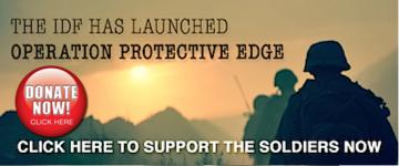 donate banner idf